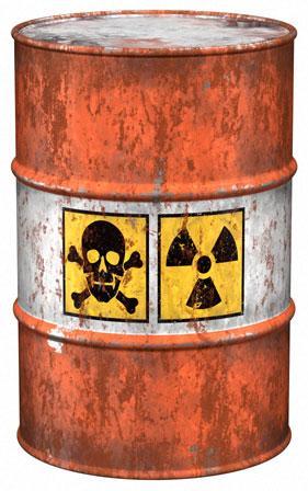 زباله هسته ای
