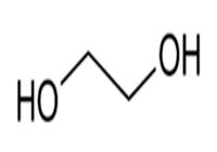 فرمول ساختاری اتیلن گلایکول