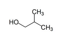 ساختار گلوله- ميله ايزوبوتانول