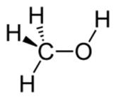 فرمول ساختاری هیدروکسی متان