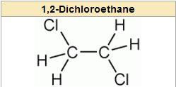 فرمول ساختاری اتیلن دی کلراید