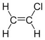 فرمول ساختاری وینیل کلراید